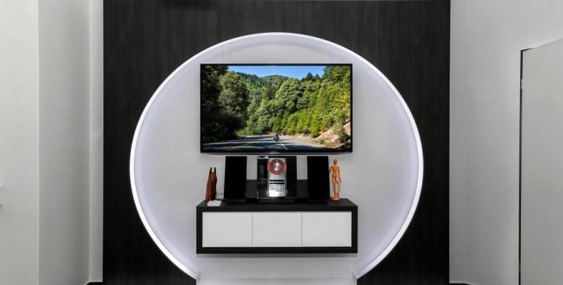 Tv-Wand Aus Schreinerhand | Fernsehwand Von Tv Wall | Tv Wall By