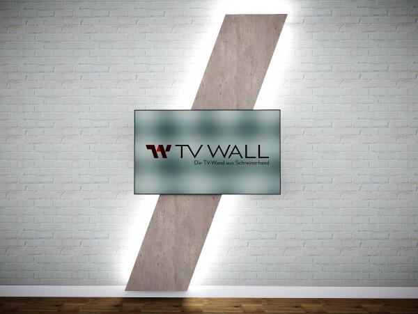 TV WALL 20 Grad