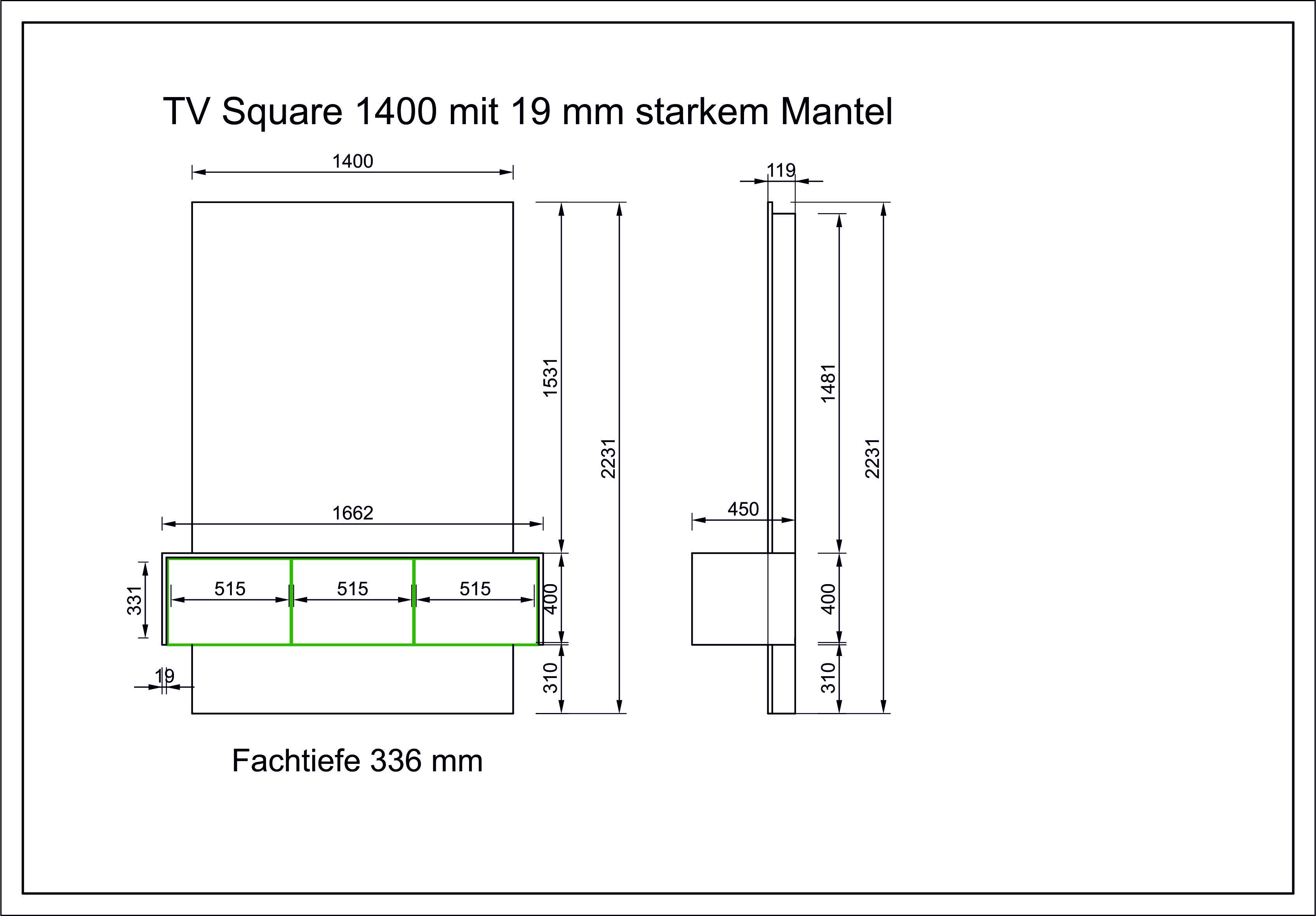 TV-Square-1400mm-mit-19mm-Mantel