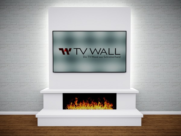 TV WALL FLAME