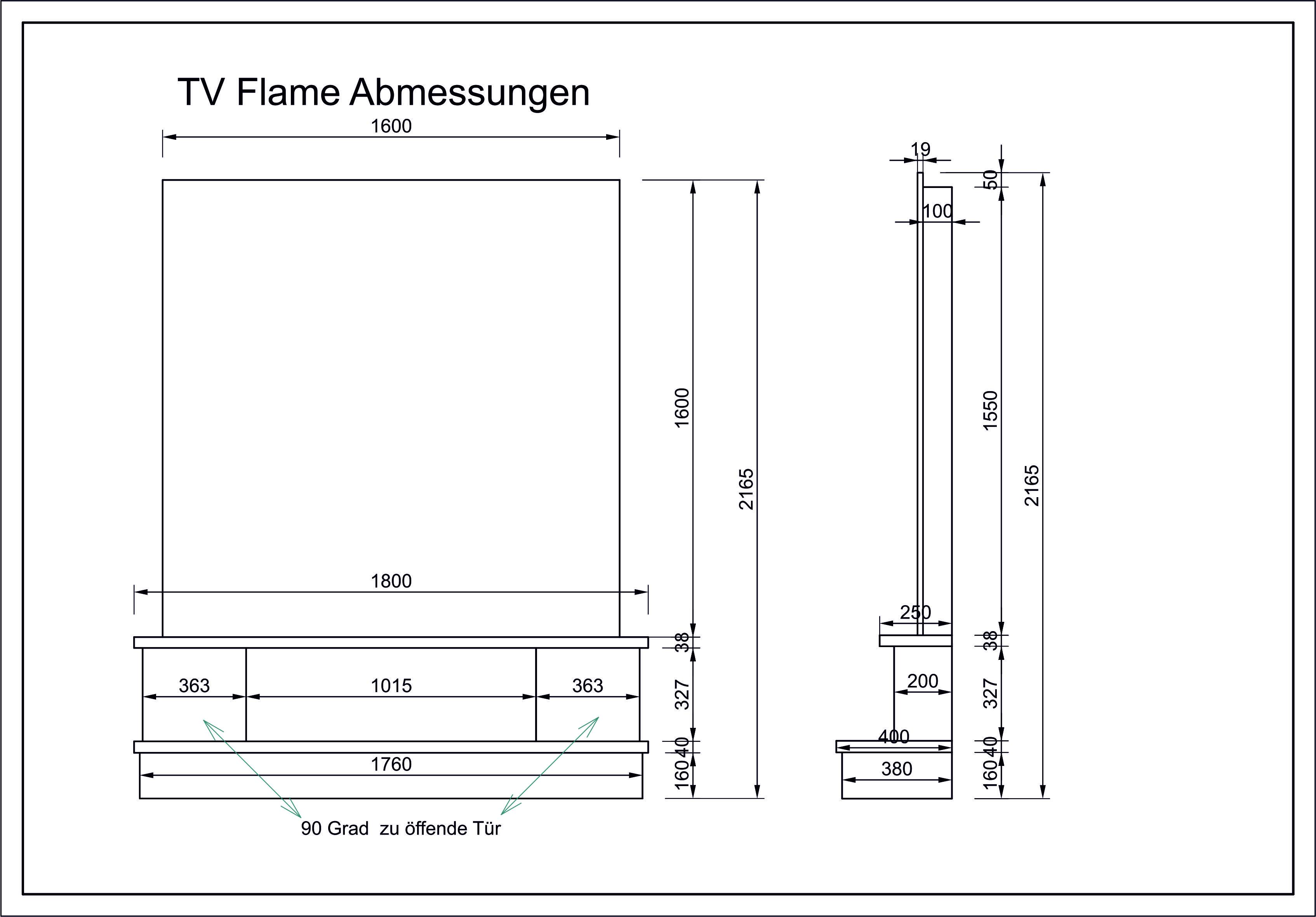 Abmessungen-Flame